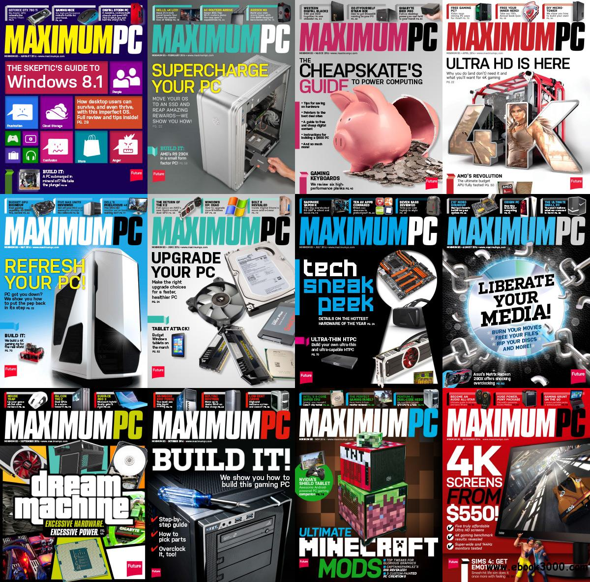 Maximum PC 2014 Full Year Collection free download
