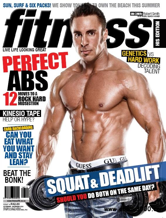 Fitness His Edition - November-December 2014 free download