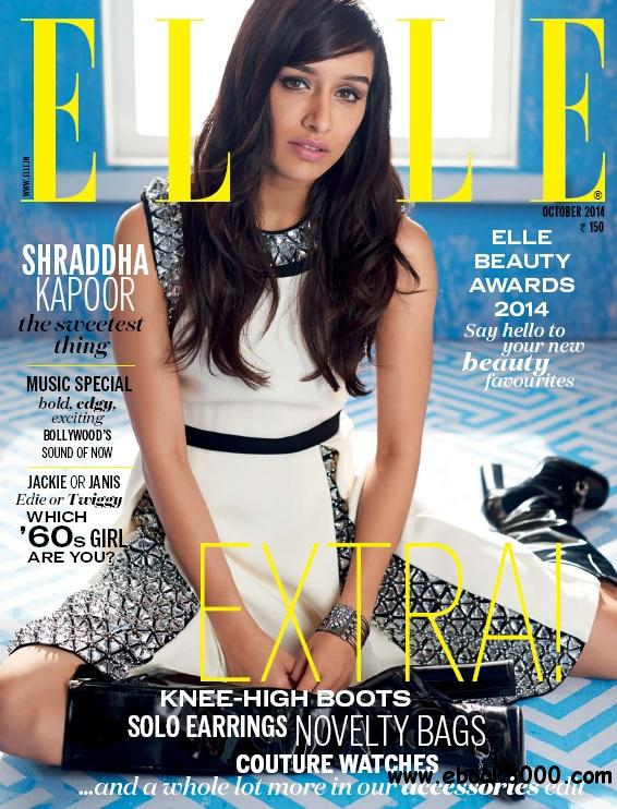 Elle India - October 2014 free download