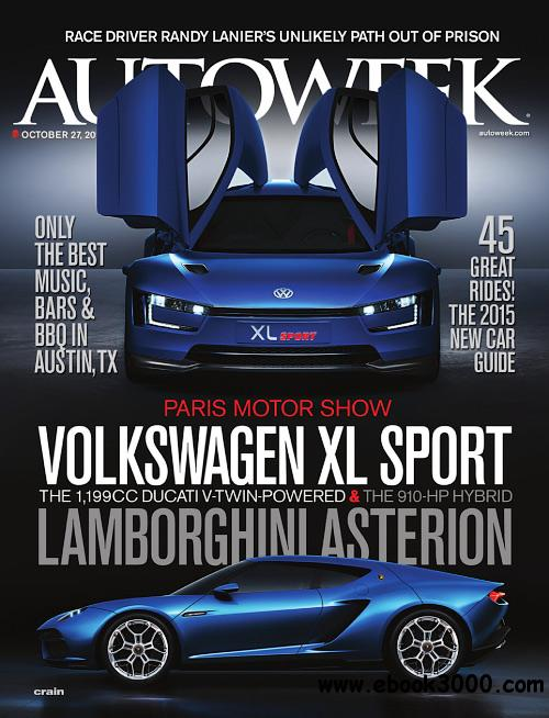 Autoweek - 27 October 2014 free download