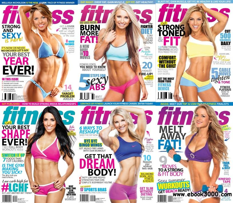 Fitness Magazine - Full Year 2014 Issues Collection free download
