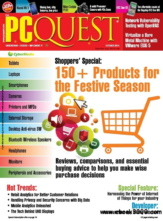 PCQuest - October 2014 free download