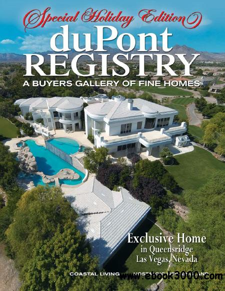duPont REGISTRY Homes - December 2014 free download