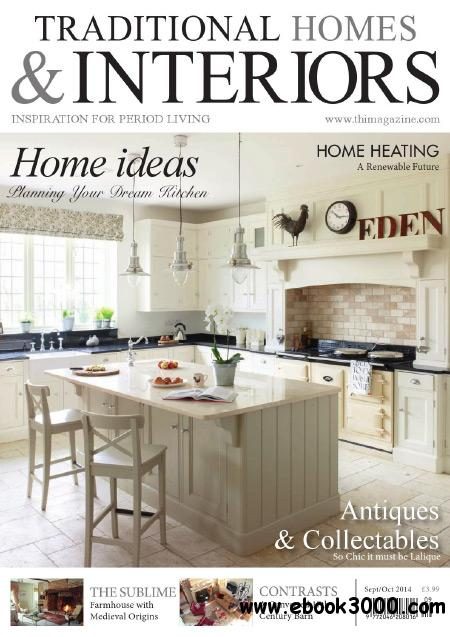 Traditional Homes & Interiors - October 2014 free download