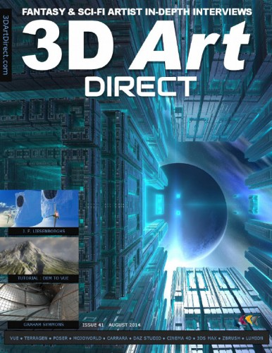 3D Art Direct - August 2014 free download