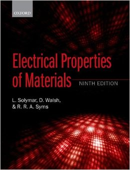 Electrical Properties of Materials, 9 edition free download