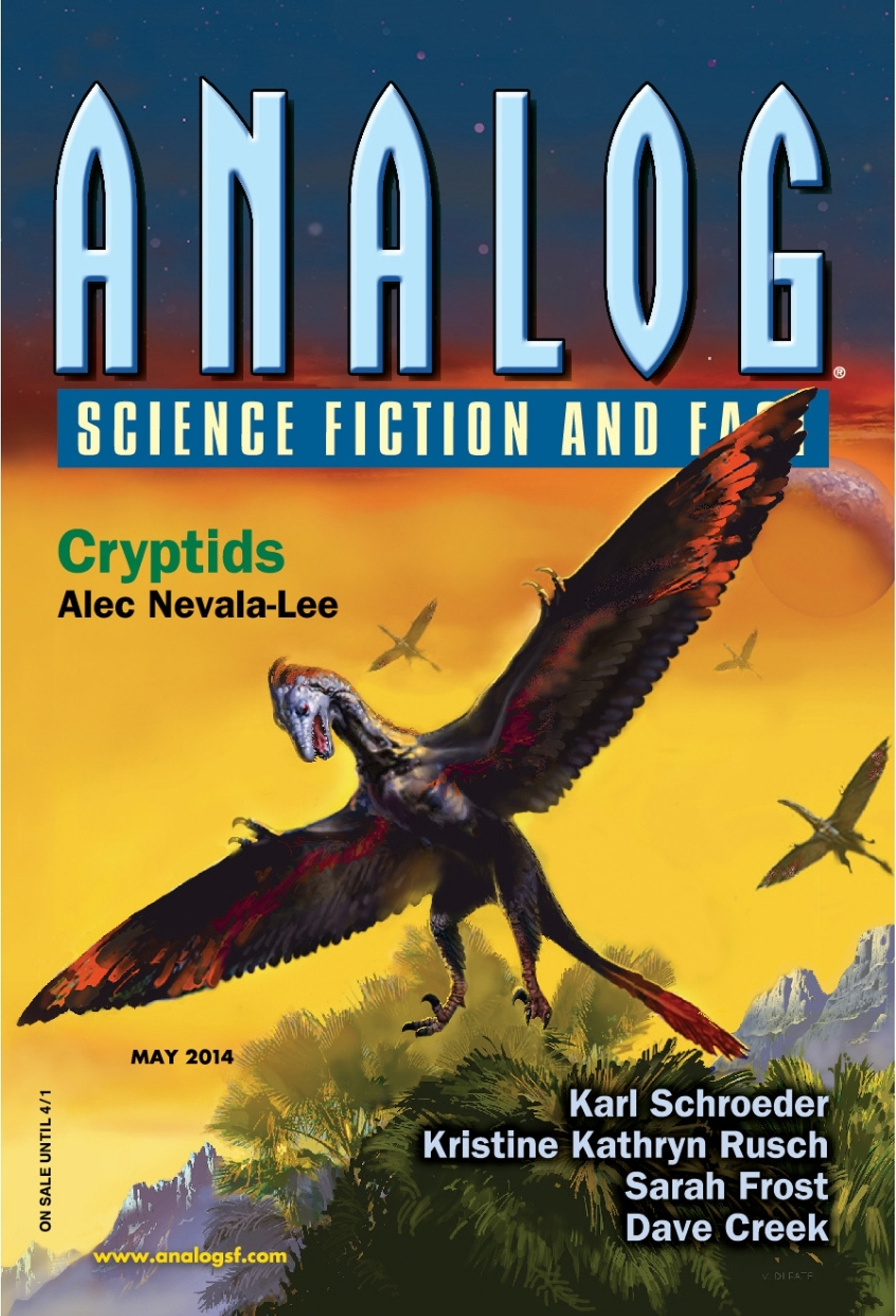 Analog Science Fiction and Fact - May 2014 free download