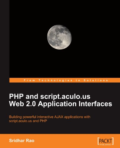 PHP and script.aculo.us Web 2.0 Application Interfaces free download