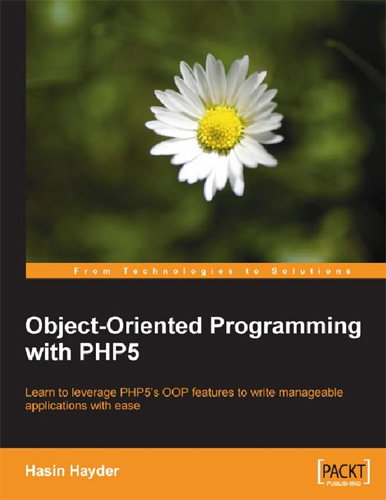 Object-Oriented Programming with PHP5 free download
