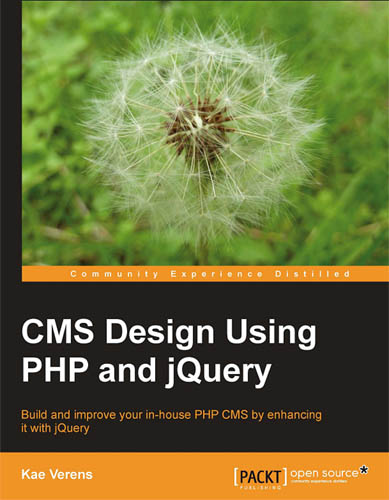 CMS Design Using PHP and jQuery free download