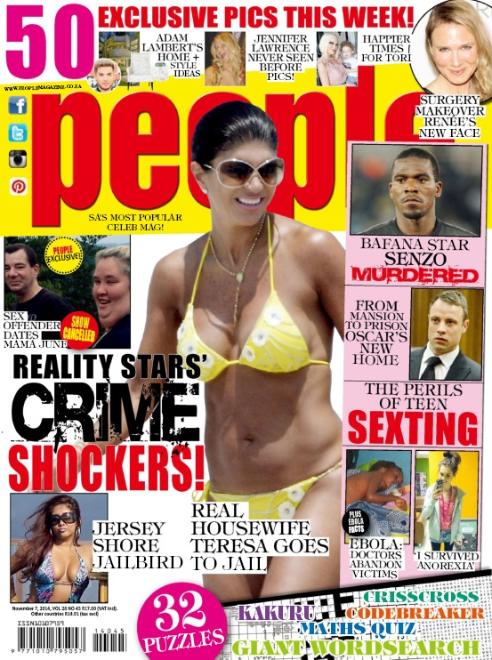 People Magazine South Africa - 7 November 2014 free download