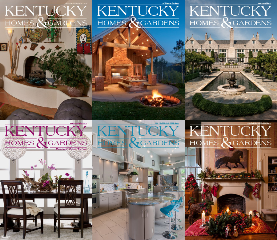 Kentucky Homes & Gardens 2014 Full Year Collection free download