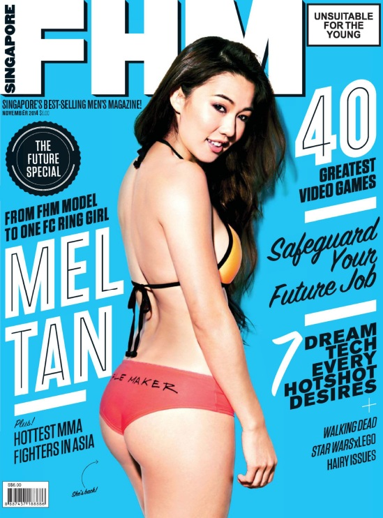 FHM Singapore - November 2014 free download