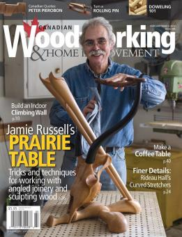Canadian Woodworking & Home Improvement #88 (February-March 2014) free download