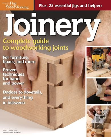 Joinery - The Complete Guide to Woodworking Joinery (The Best of Fine Woodworking) free download