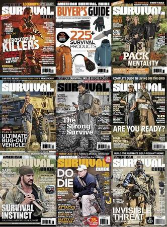 American Survival Guide Magazine 2014 Full Collection free download