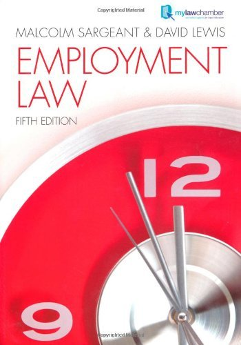 Employment Law, 5th Edition free download
