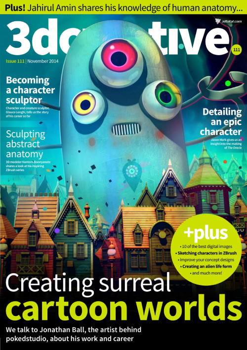 3D Creative - November 2014 free download