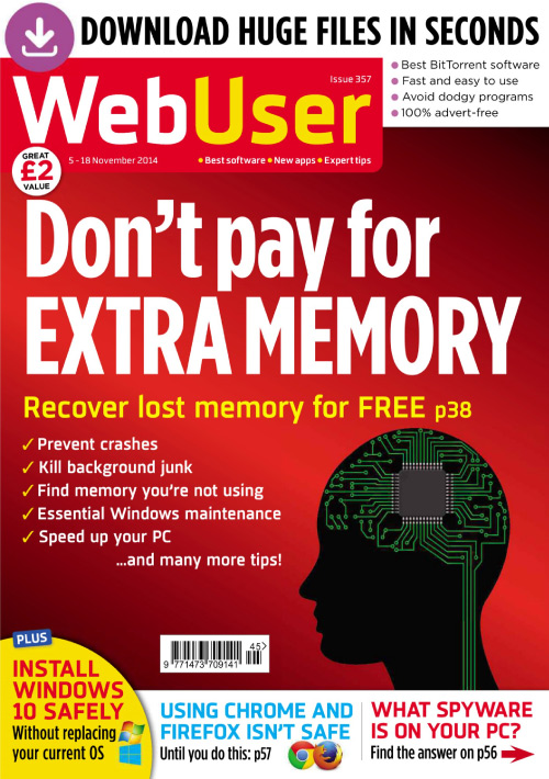 Webuser - Issue 357, 5-18 November 2014 free download