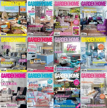 South Africa Garden and Home Magazine 2014 Full Collection free download