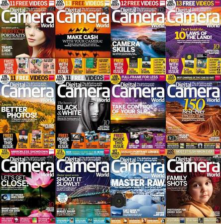 Digital Camera World Magazine 2014 Full Collection free download