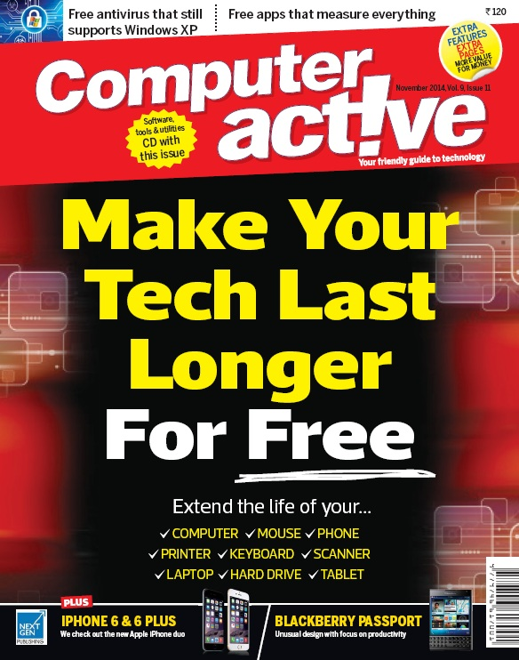 Computer Active India - November 2014 free download