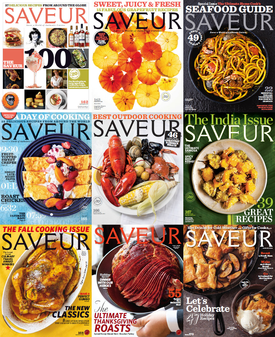 Saveur Magazine - Full Year 2014 Issues Collection download dree