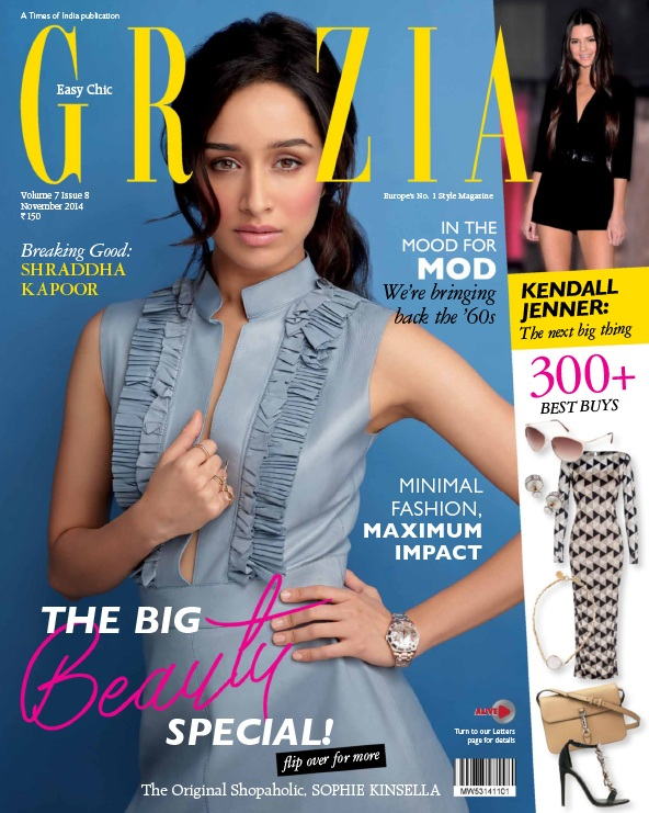 Grazia - November 2014 free download