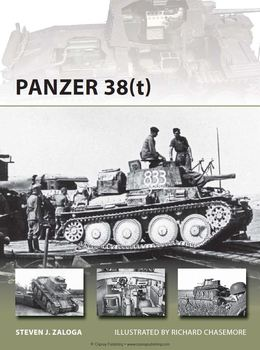 Panzer 38(t) (Osprey New Vanguard 215) free download