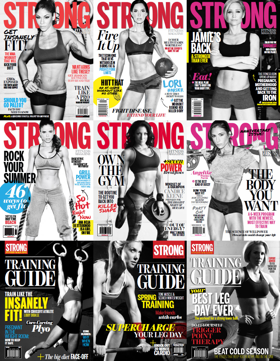 STRONG Fitness Magazine - Full Year 2014 Issues Collection free download