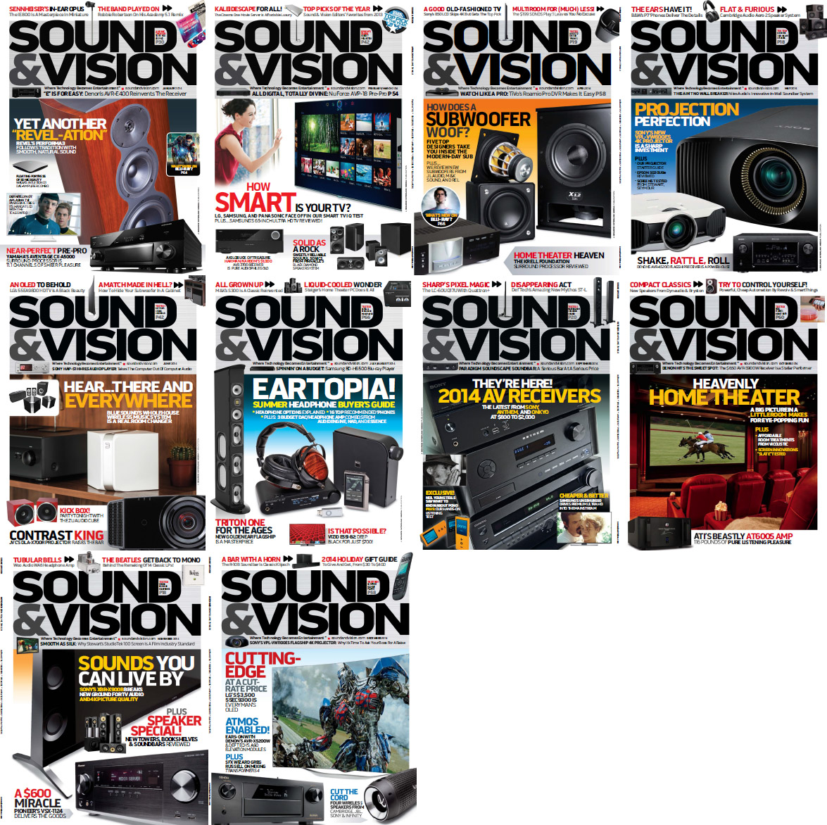 Sound & Vision Magazine - Full Year 2014 Issues Collection free download