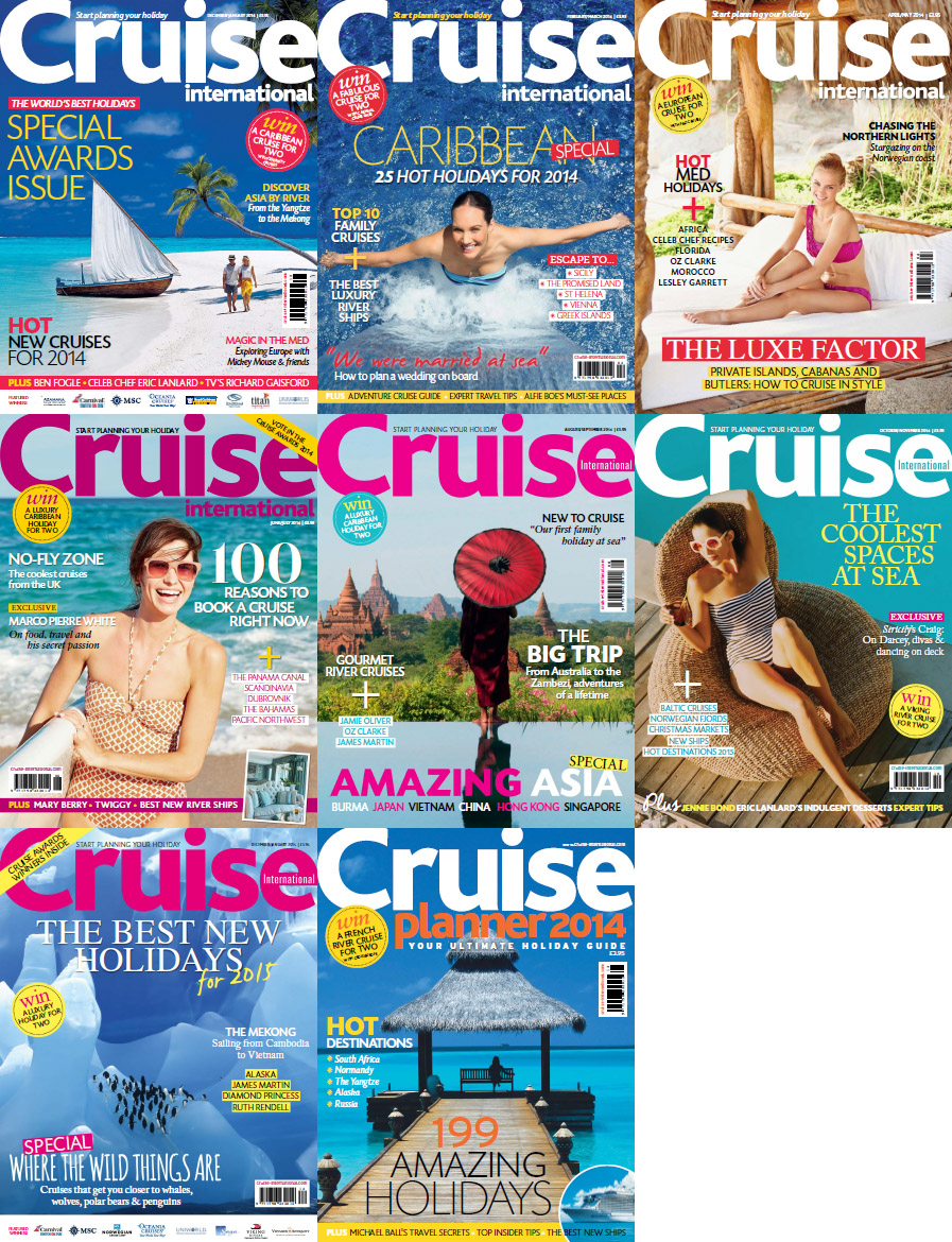 Cruise International Magazine - Full Year 2014 Issues Collection free download