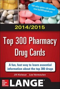 2014-2015 Top 300 Pharmacy Drug Cards free download