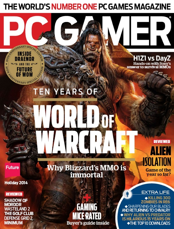 PC Gamer USA - Holiday 2014 free download