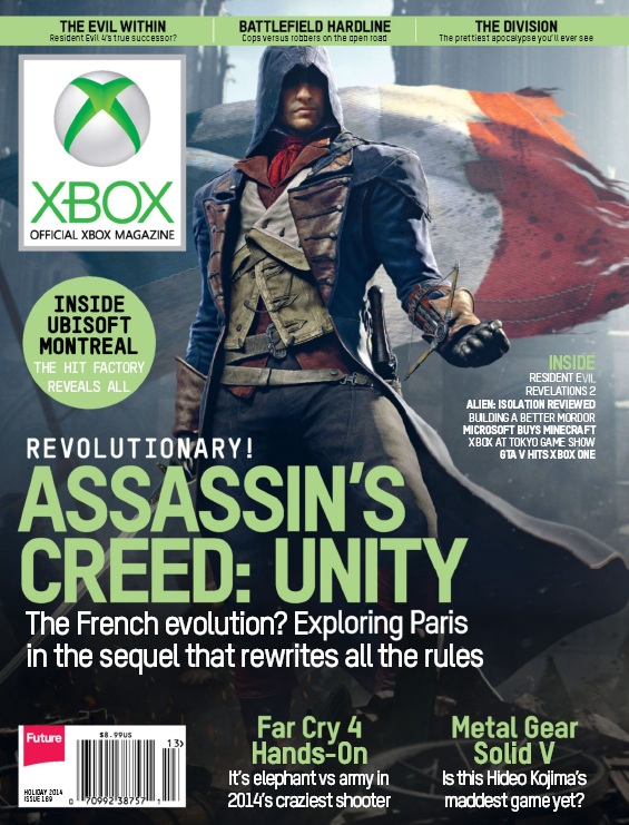 Official Xbox Magazine - Holiday 2014 free download