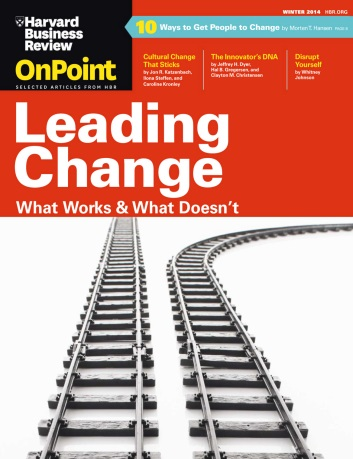 Harvard Business Review OnPoint - Winter 2014 free download