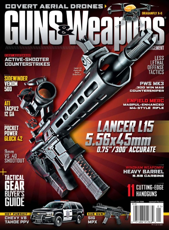 Guns & Weapons for Law Enforcement - December 2014-January 2015 free download