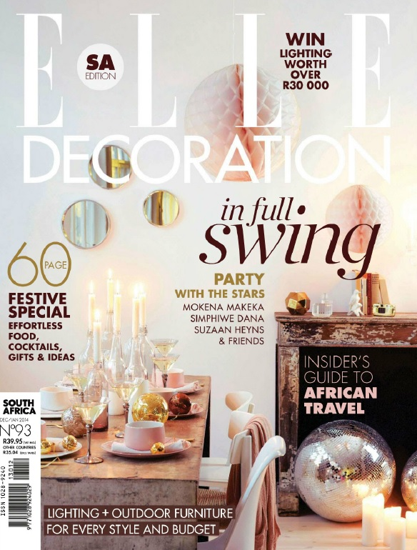 Elle Decoration South Africa - December 2013-January 2014 free download