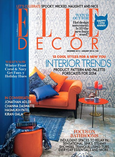 Elle Decor India - December 2013-January 2014 free download