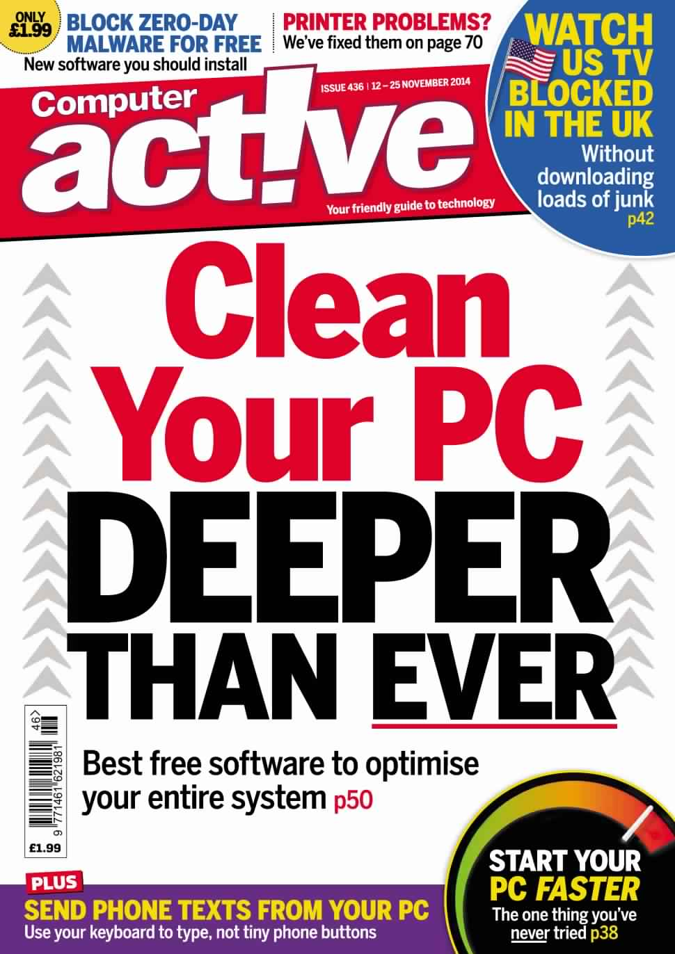 Computer Active UK - 12 November 2014 free download