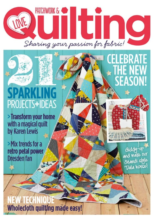 Love Patchwork & Quilting - No.15, 2014 free download