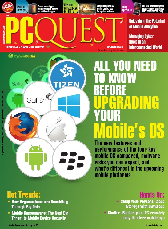 PCQuest - November 2014 free download