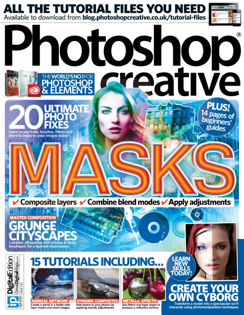 Photoshop Creative - Issue 120, 2015 free download