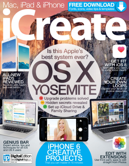 iCreate UK - Issue 140, 2015 free download