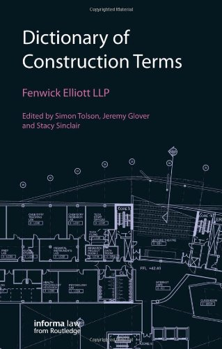 Dictionary of Construction Terms download dree
