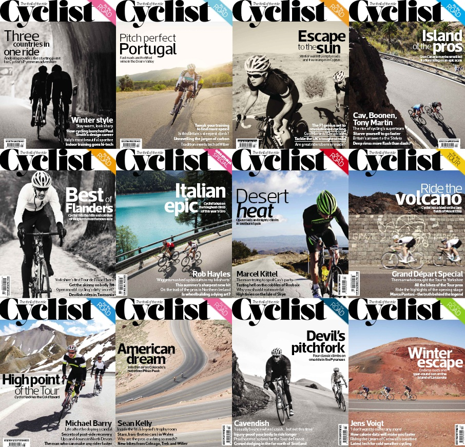 Cyclist - Full Year 2014 Issues Collection free download