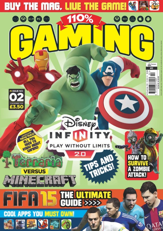 110% Gaming - Issue 2, 2014 free download