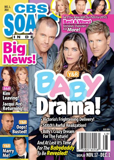 CBS Soaps In Depth - December 01, 2014 download dree
