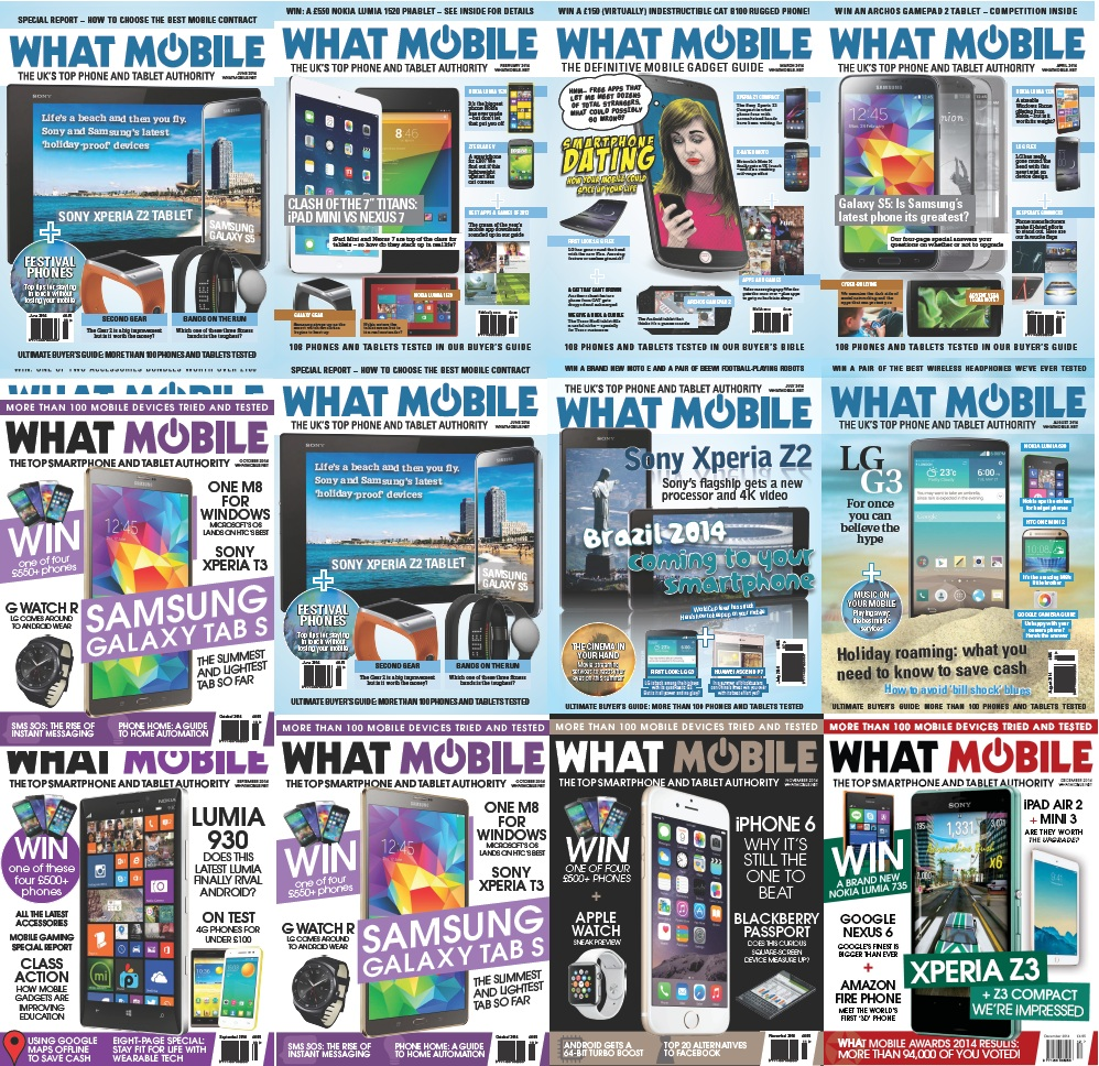 What Mobile - Full Year 2014 Issues Collection free download