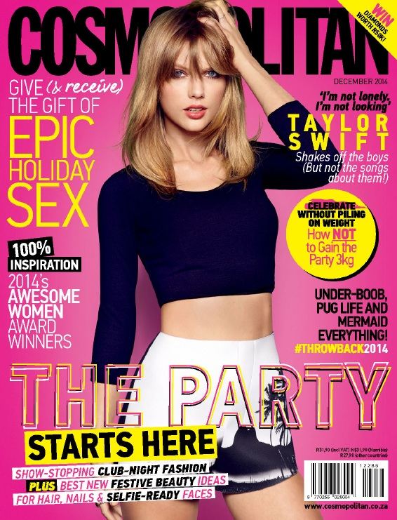 Cosmopolitan South Africa - December 2014 free download